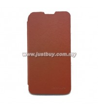 Lenovo S820 Flip Cover - Brown