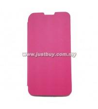 Lenovo S820 Flip Cover - Pink