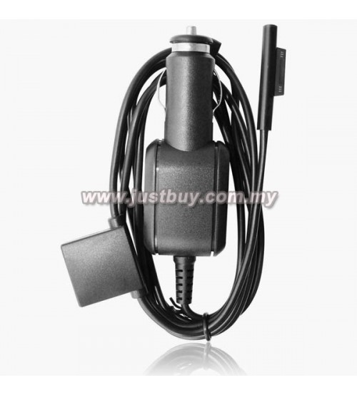 Microsoft Surface PRO 3 / Surface PRO 4 Intel Core i5 i7 Car Charger (With USB Port)