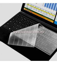 Microsoft Surface PRO 3 Keyboard Silicone Protector - Transparent