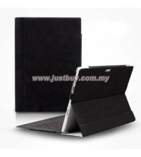 Microsoft Surface Pro 3 D-Park Detachable Velcro Case - Black