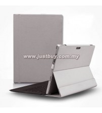 Microsoft Surface Pro 3 D-Park Detachable Velcro Case - Grey