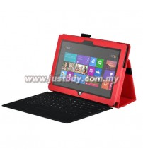 Microsoft Surface PRO Leather Case - Red