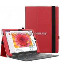 Microsoft Surface 3 PU Leather Case - Red
