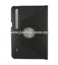 Motorola XOOM 360 Degree Rotation Leather Case - Black
