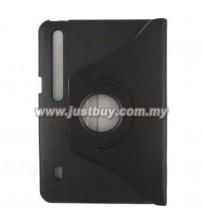 Motorola XOOM 360 Degree Rotation Leather Case - Black