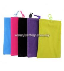 Power Bank Soft Velvet Pouch Bag