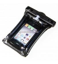 Smartphone PVC Waterproof Cover Case - Black