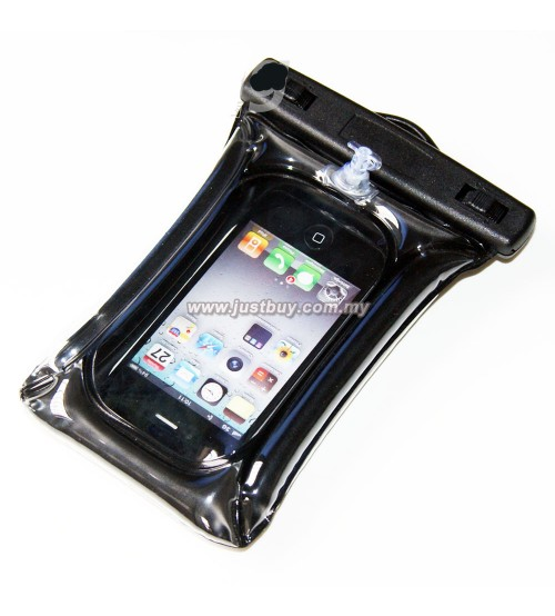 Smartphone PVC Waterproof Cover Case - Black