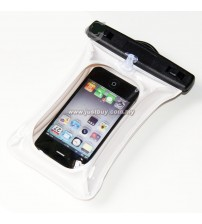 Smartphone PVC Waterproof Cover Case - White
