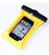 Smartphone PVC Waterproof Cover Case - Yellow