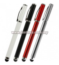Portable 2 in 1 Touch Stylus With Ballpoint Pen