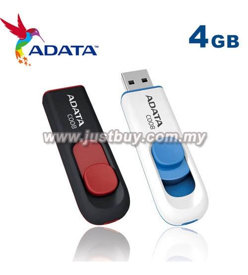 ADATA C008 USB Flash Drive / Pendrive - 4GB