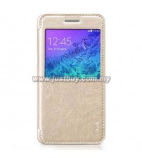 Samsung Galaxy A5 HOCO Premium Leather Case - Gold