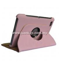 Samsung Galaxy Tab 7.7 P6800 360 Degree Rotation Case - Pink