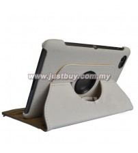 Samsung Galaxy Tab 7.7 P6800 360 Degree Rotation Case - White