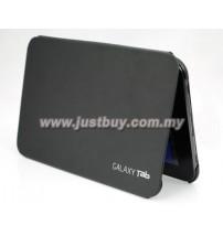 Samsung Galaxy Tab 7.7 P6800 Book Cover Case - Black