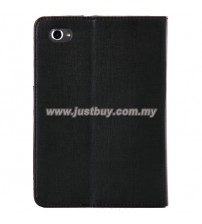 Samsung Galaxy Tab 7.7 Premium Leather Case - Black
