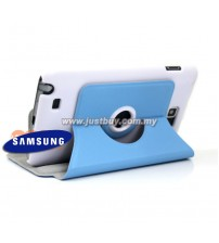 Samsung Galaxy Note i9220 360 Rotating Case - Blue