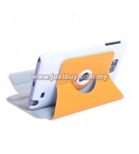 Samsung Galaxy Note i9220 360 Rotating Case - Orange