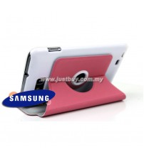 Samsung Galaxy Note i9220 360 Rotating Case - Pink