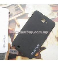 Samsung Galaxy Note i9220 Scrub Fiber Case - Black
