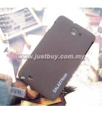 Samsung Galaxy Note i9220 Scrub Fiber Case - Brown