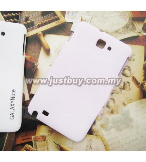 Samsung Galaxy Note i9220 Scrub Fiber Case - Pink