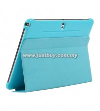 Samsung Galaxy Note 10.1 (2014) Book Cover - Blue