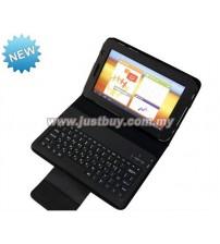 Samsung Galaxy Tab 7.0 Plus P3100 & P6200 Bluetooth Keyboard Leather Case