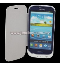 Samsung Galaxy S3 i9300 3200mAh External Battery Flip Case