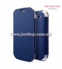 Samsung Galaxy S3 SGP Folio Flip Case - Blue