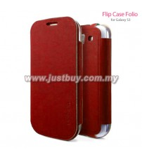 Samsung Galaxy S3 SGP Folio Flip Case - Red