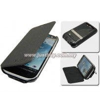 Samsung Galaxy S3 i9300 2600mAh External Battery Flip Case - Black