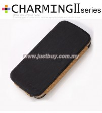 Samsung Galaxy S3 i9300 Kalaideng Charming II Series Ultra Slim Case - Black