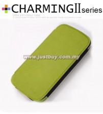 Samsung Galaxy S3 i9300 Kalaideng Charming II Series Ultra Slim Case - Green