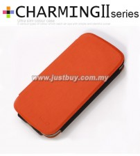 Samsung Galaxy S3 i9300 Kalaideng Charming II Series Ultra Slim Case - Orange