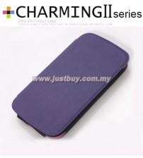 Samsung Galaxy S3 i9300 Kalaideng Charming II Series Ultra Slim Case - Purple