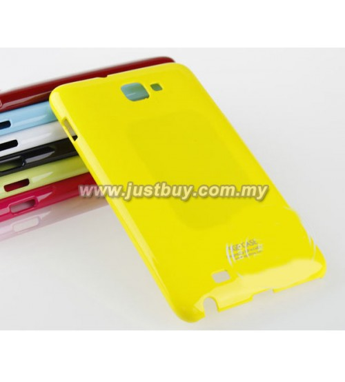 Samsung Galaxy Note SGP Case - Yellow