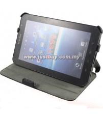 Samsung Galaxy Tab P1000 Wave Skin Leather Case