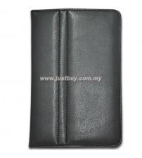 Samsung Galaxy Tab P1000 Leather Case - Black