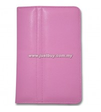Samsung Galaxy Tab P1000 Leather Case - Pink