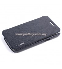 Samsung Galaxy Core USAMS Slim Flip Case - Black