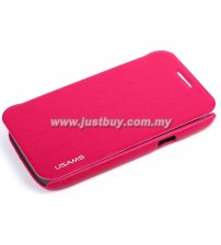 Samsung Galaxy Core USAMS Slim Flip Case - Pink