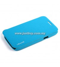 Samsung Galaxy Core USAMS Slim Flip Case - Sky Blue