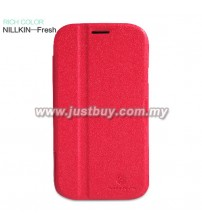 Samsung Galaxy Grand Nillkin Fresh Flip Case - Red