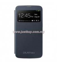 Samsung Galaxy Mega 6.3 OEM S-View Flip Cover - Black