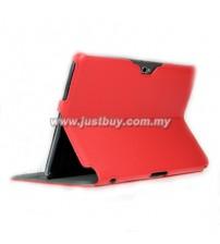 Samsung Galaxy Note 10.1 N8000 Premium Slim Case - Red
