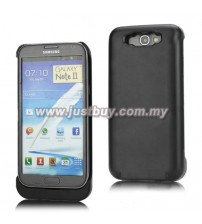 Samsung Galaxy Note 2 N7100 3600mAh Battery Back Case - Black