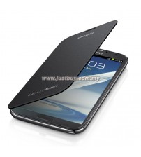 Samsung Galaxy Note 2 N7100 OEM Flip Cover - Black